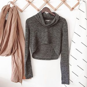 CAbi #945 Glee Cropped Pullover Sweater